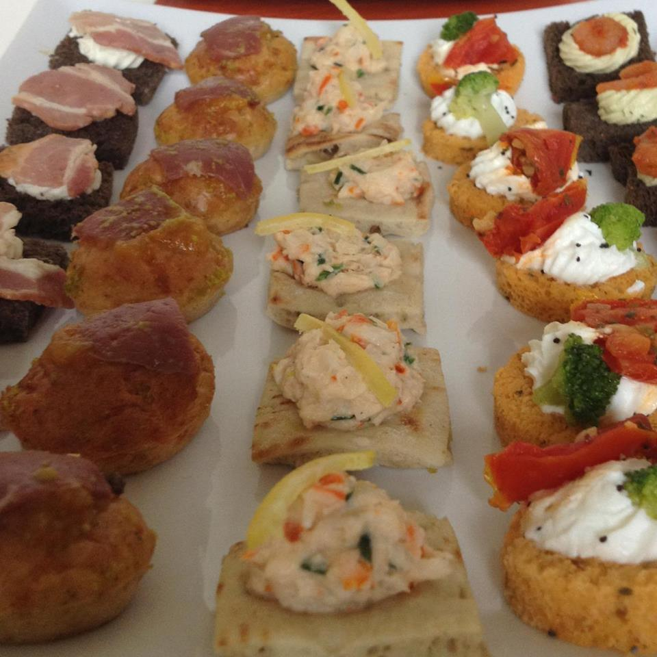 Canapes suitable for all events