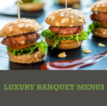 Luxury Banquet Menus