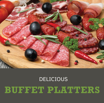 Delicious Buffet Platters