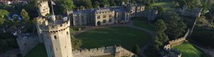 Warwick Castle Courtyard Aerial View 300x80 - Catering in Castles!