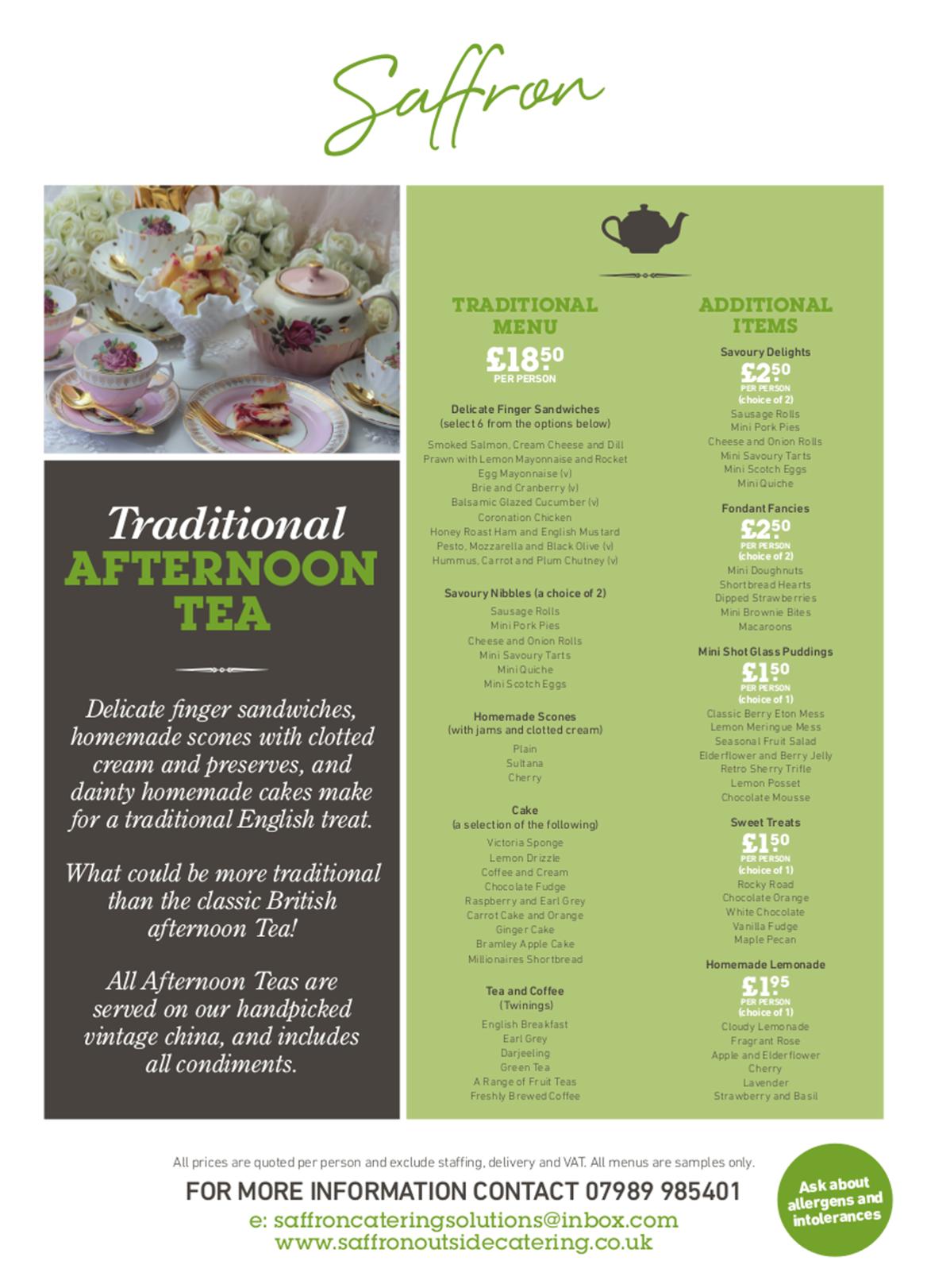 afternoon tea full - Afternoon Tea