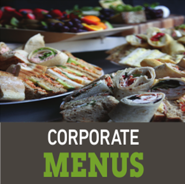 corporate menus - Menus