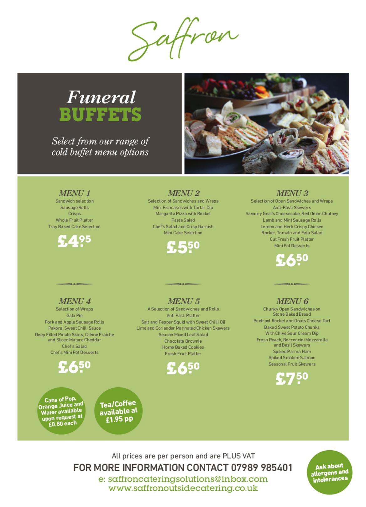 funeral buffets full - Funeral Buffets