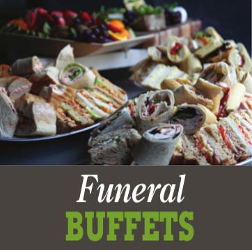 funeral buffets - Menus