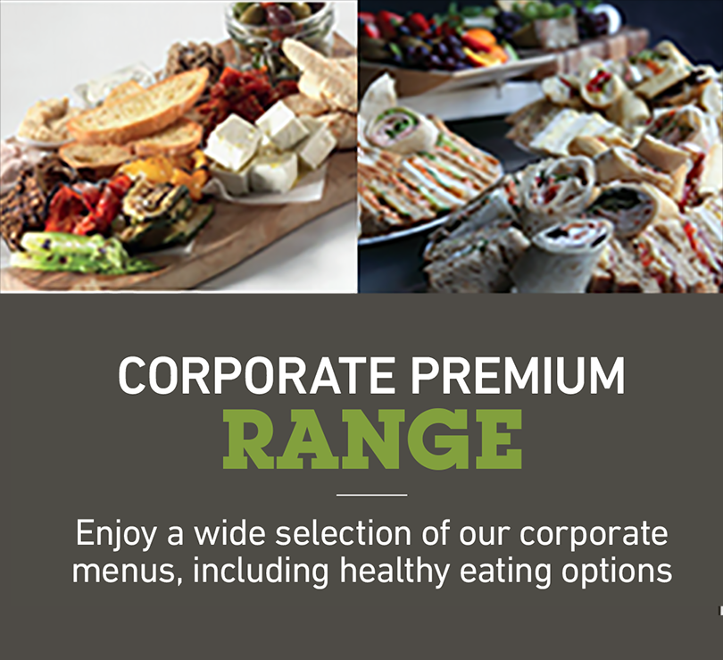 corporate signature range4.0 - Menus